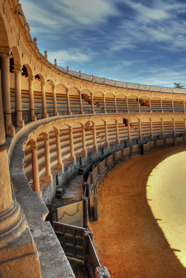 Photograph Plaza de toros de Ronda II by Jose Joaquín Pérez Gamero on 500px