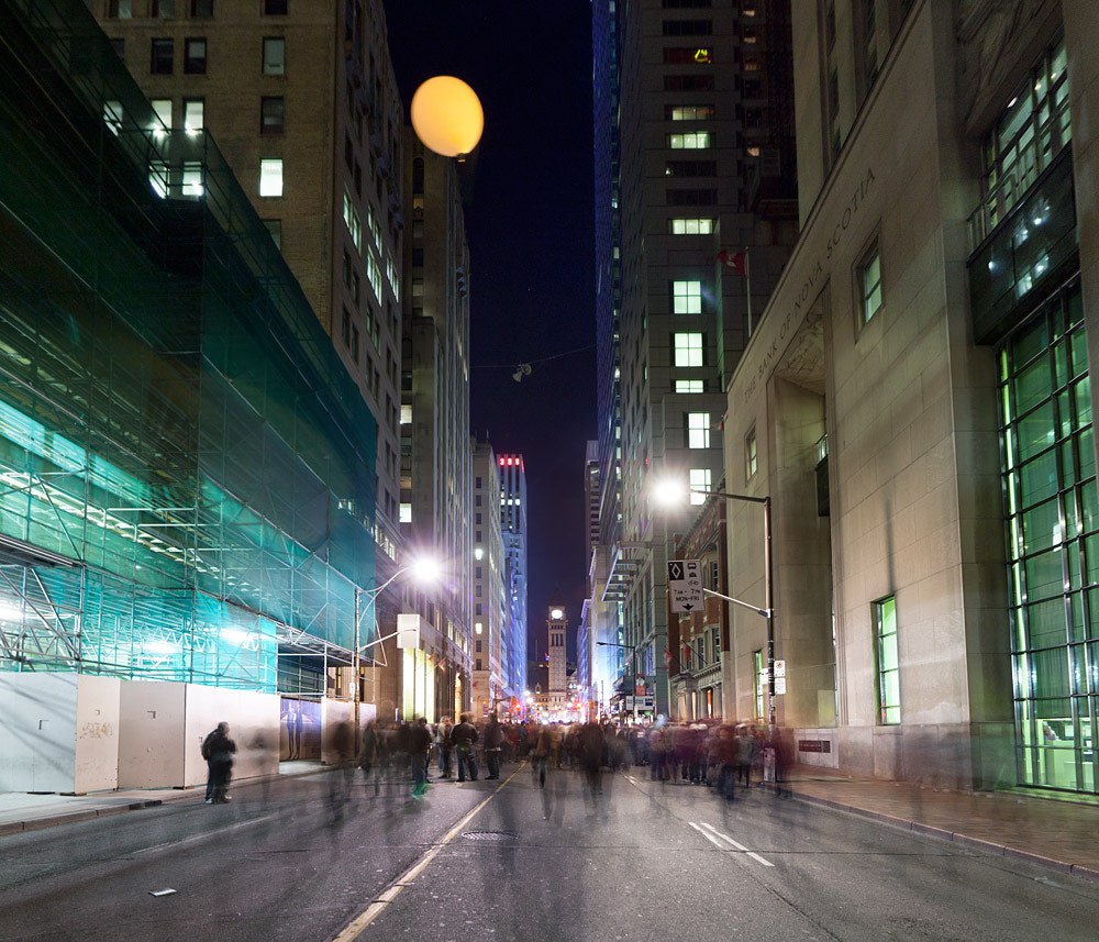 Photograph The Way Up is the Way Down, at Nuit Blanche Toronto by Miles Storey on 500px