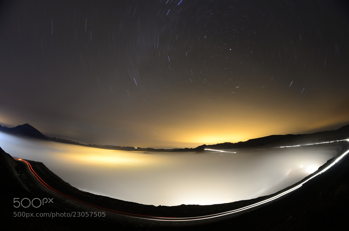 Photograph Stars and Fog by Luis Reyero on 500px