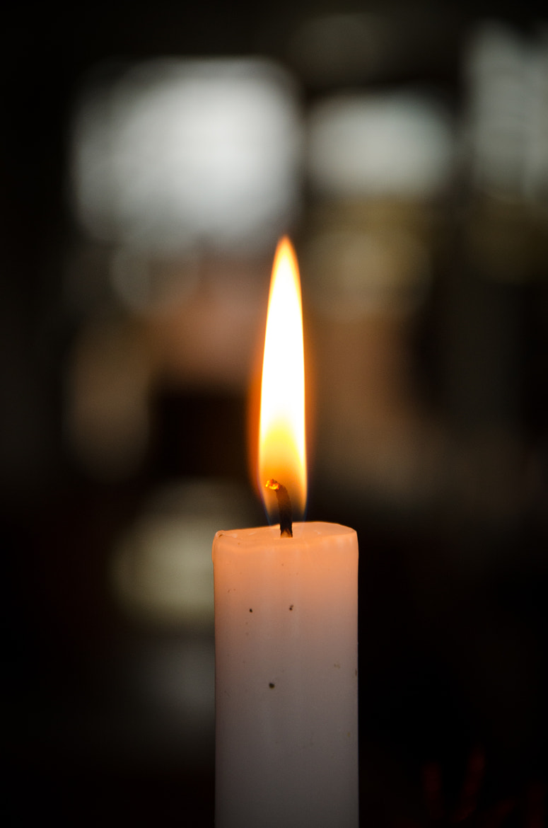 Photograph candle by Andy Vobiller on 500px