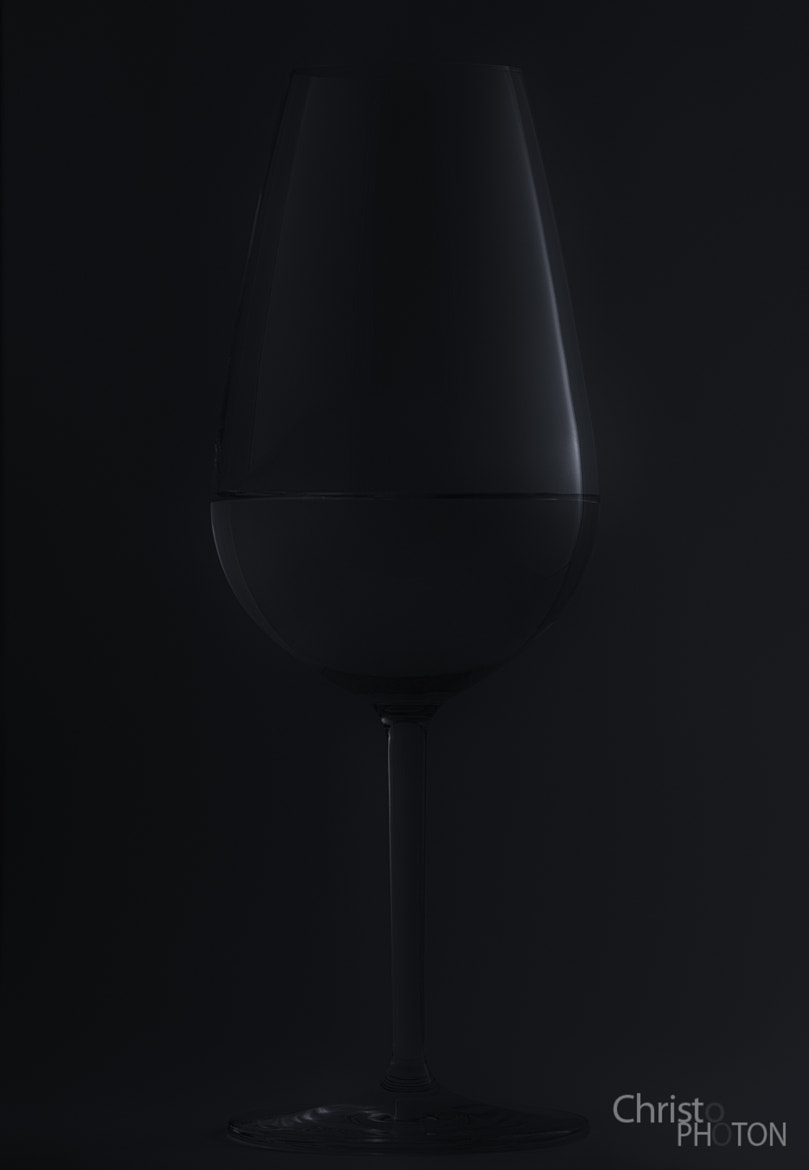 Photograph Wine Glass Low Key by Christoph Dohmesen on 500px