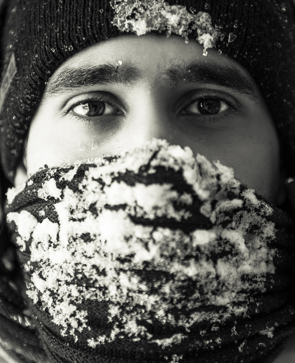 Photograph Winter Self Portrait by Navid S on 500px