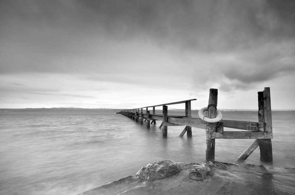 Photograph Old Pier by Sebastian Lögering on 500px