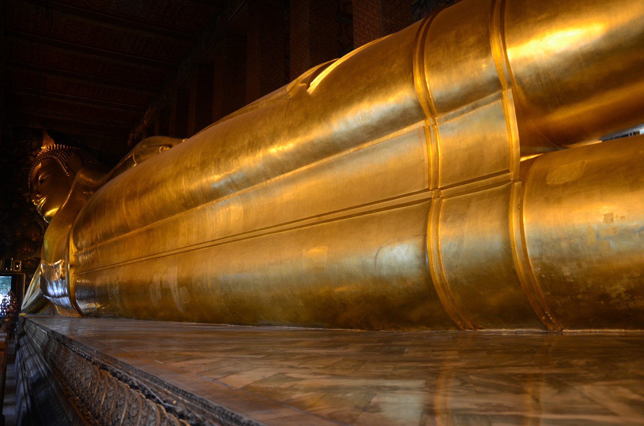 Photograph The Great Sleeping Buddha by Sam Azmy on 500px