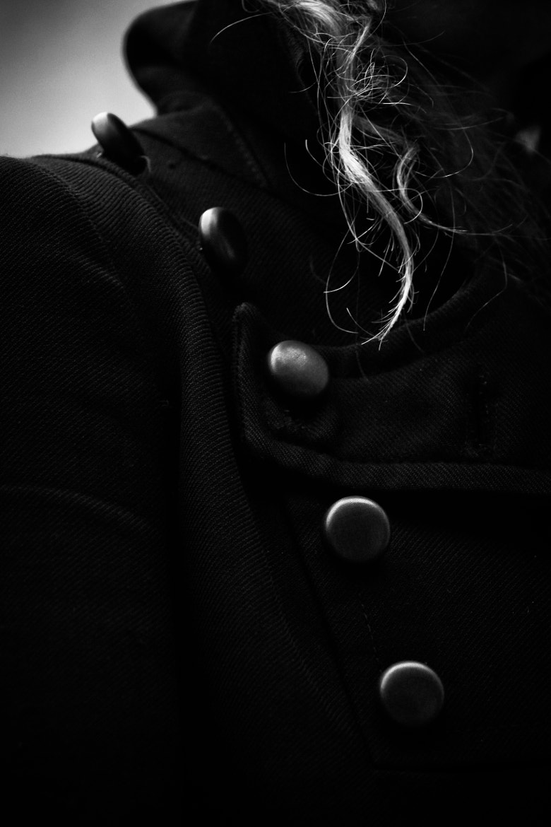 Photograph Her Buttons by Byron King on 500px