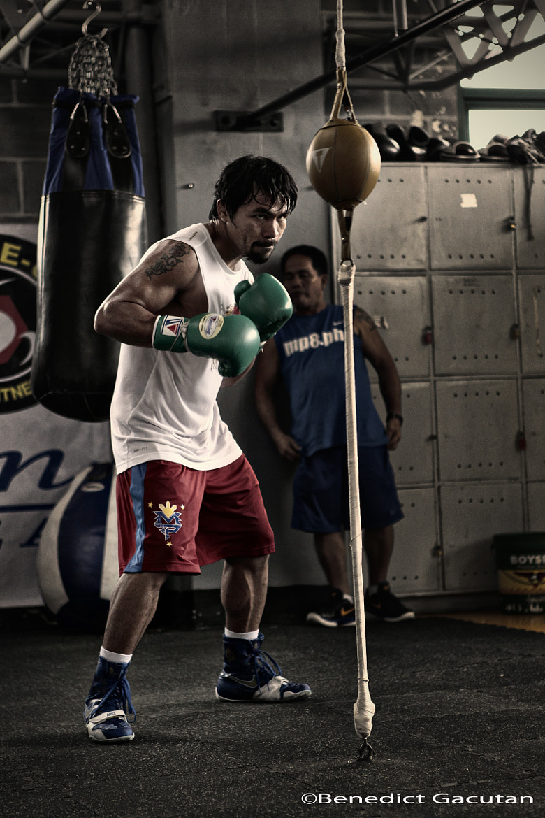 Photograph Manny Pacquiao by Benedict  Gacutan on 500px