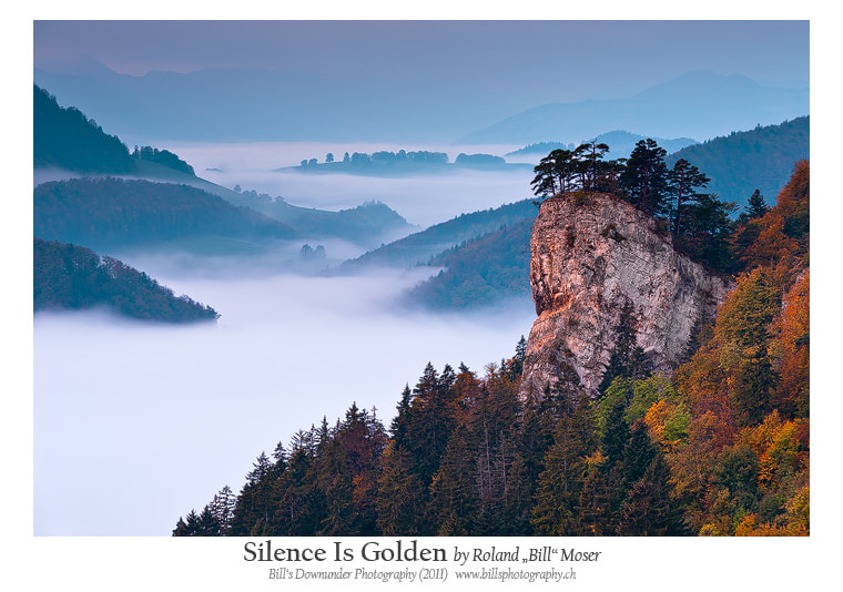 """Photograph Silence Is Golden by Roland """"Bill"""" Moser on 500px"""