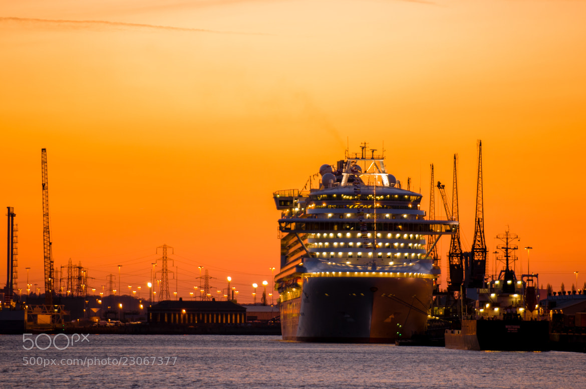 Photograph Docks at Sunset by Gerry Walden on 500px