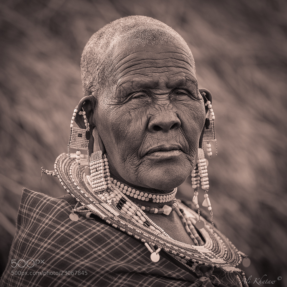 Photograph Masai Grandma by Ali Khataw on 500px