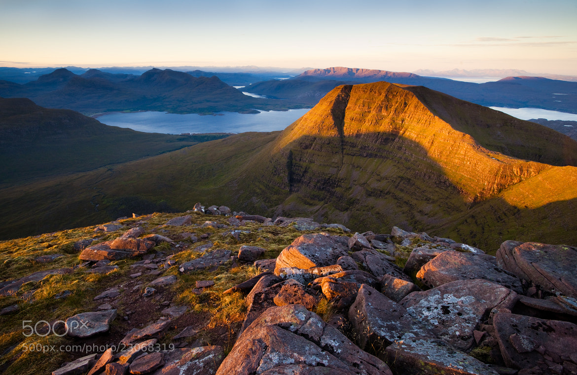 Photograph First light on Beinn Alligin by Kenny Muir on 500px