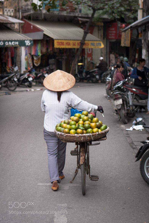 Photograph Fruit seller by jaoimy on 500px