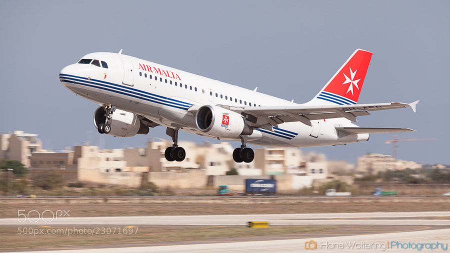 Photograph Airbus A319 @ Luqa Airport by Hans Woltering on 500px