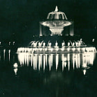 Постер, плакат: India Gate Fountain New Delhi 1946