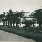 Постер, плакат: Royal Artillery 9th Field Regiment Barracks Nowshera India 1940s