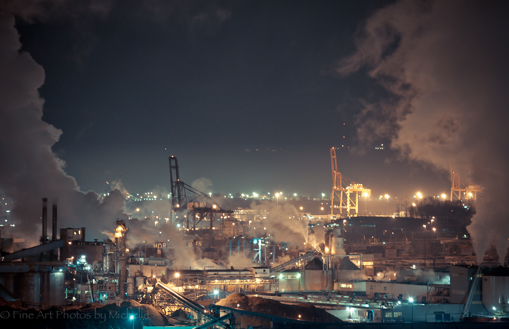 Photograph Industrial Tacoma by Michelle Stevenson on 500px