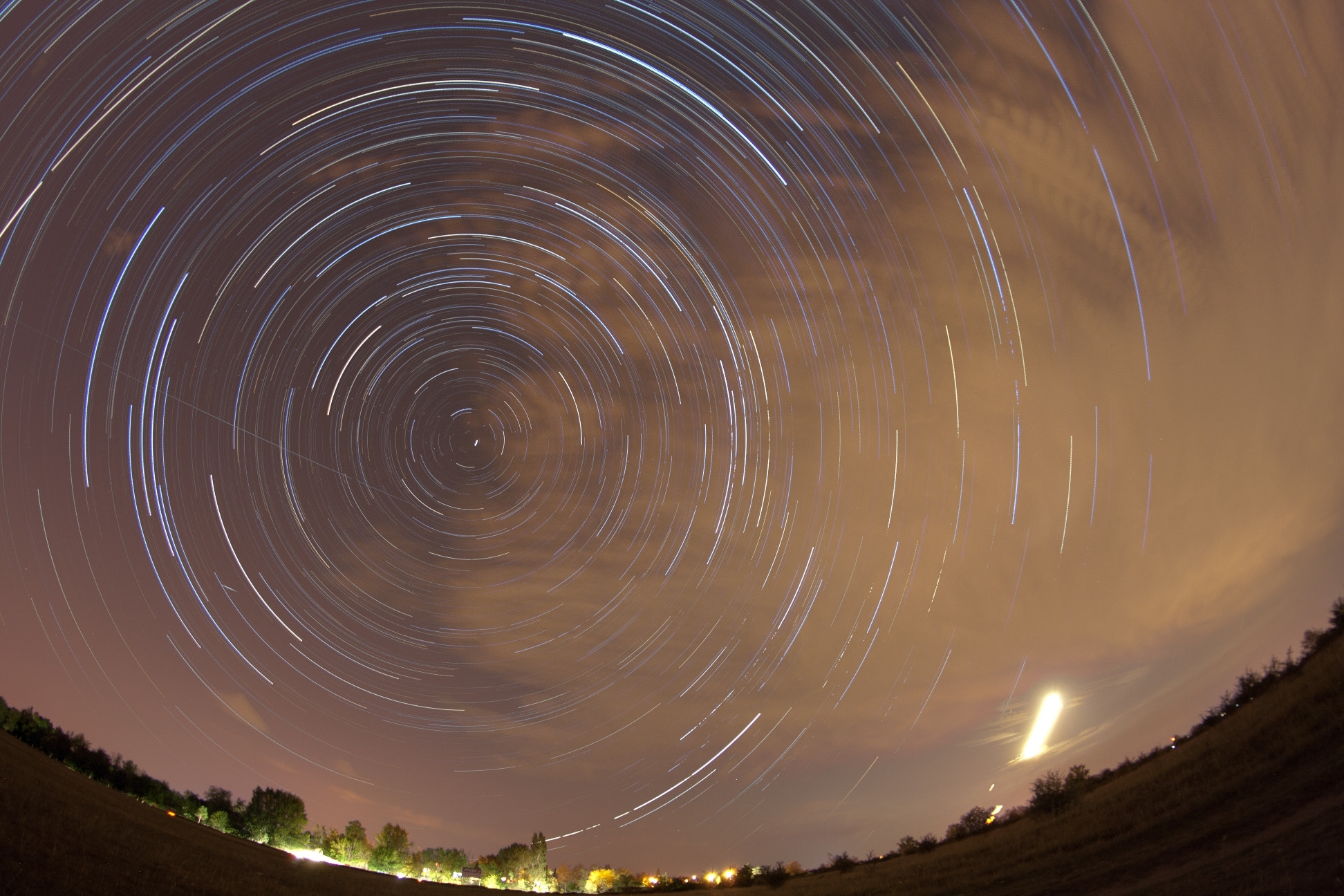 Photograph Startrails by György Soponyai on 500px