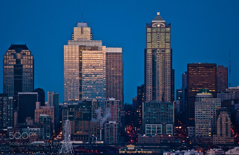 Photograph Seattle Sunset by Michelle Stevenson on 500px