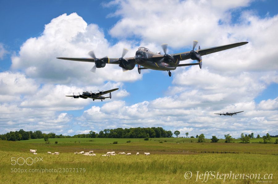 Photograph Lancasters by Jeff Stephenson on 500px