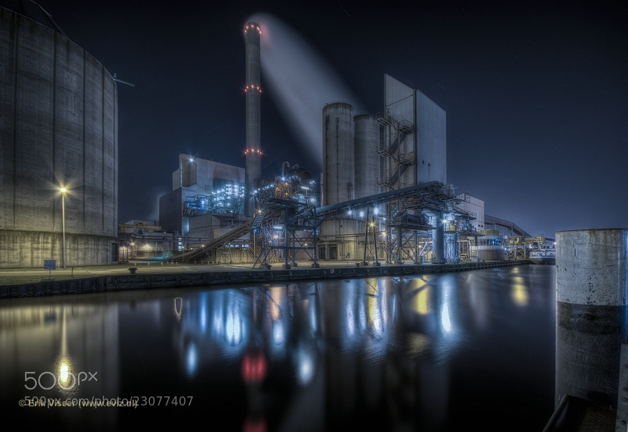 "Photograph Power Plant ""Hemweg"" by Erik Visser on 500px"