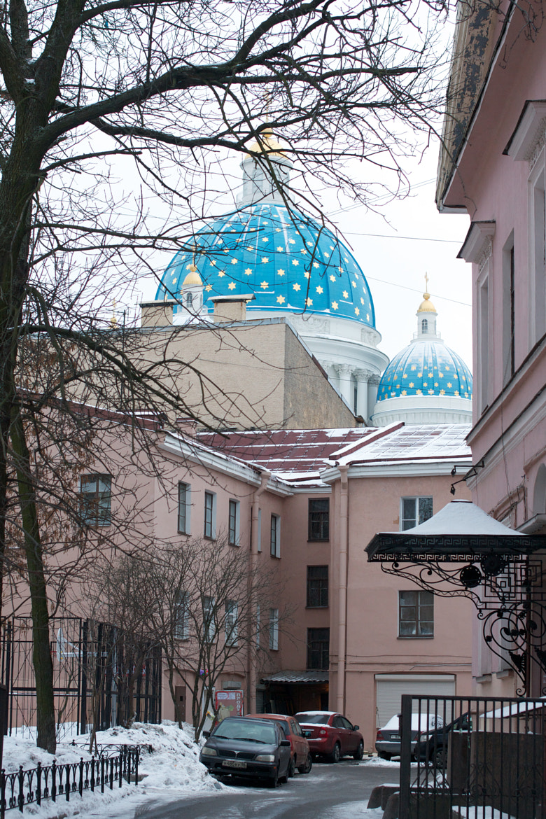 Photograph Domes of the Troitsk cathedral. Petersburg. by Igor Pushin on 500px