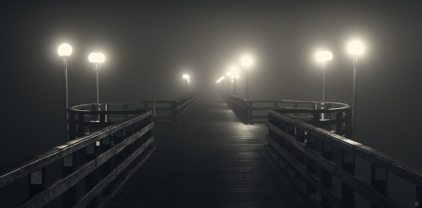 Photograph Pier at night by PBucket on 500px