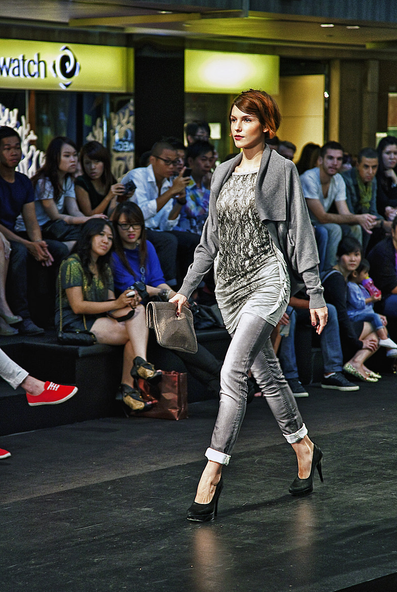 Photograph Paragon Fall Winter Fashion 2011 - DKNY Jeans by David Chew on 500px
