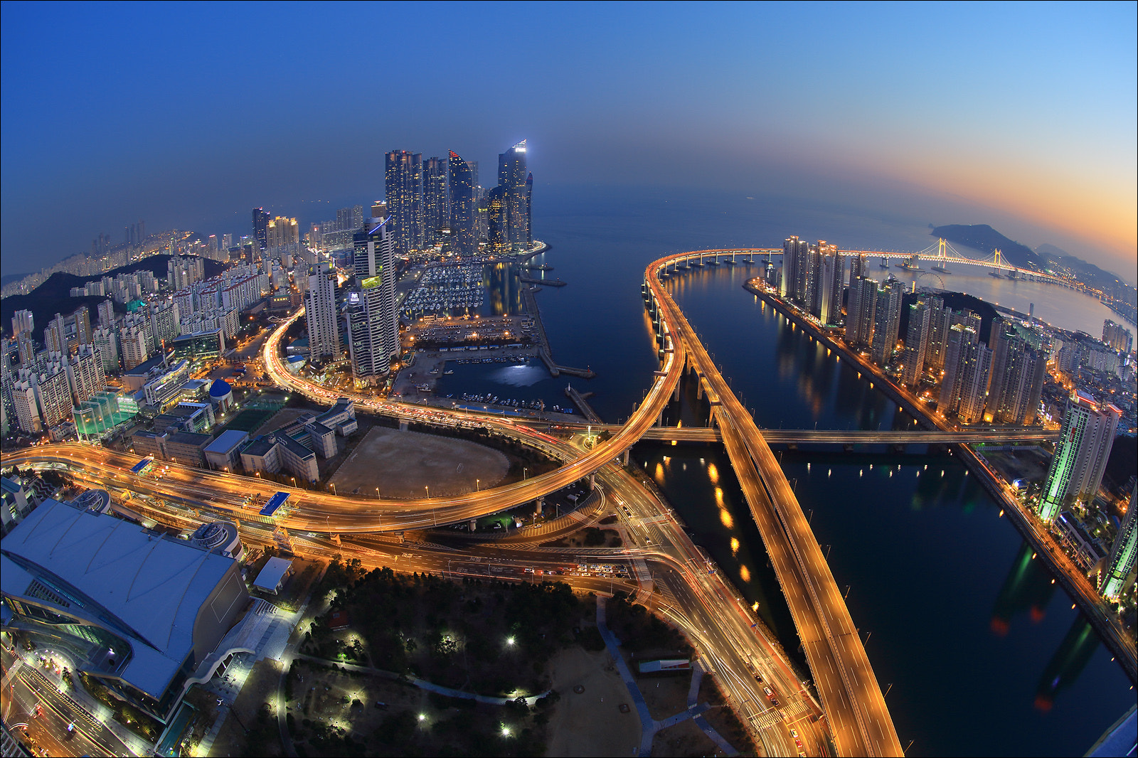 Photograph Night in Busan by keehwan Kim on 500px