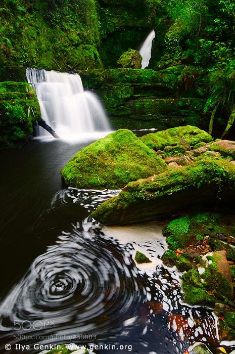 Photograph Lower McLean Falls by Ilya Genkin on 500px