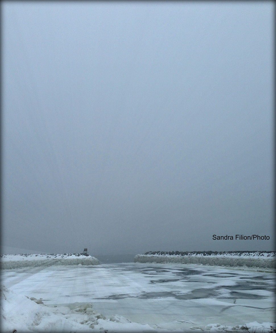 Photograph ICE AND SKY (QUEBEC) by sandra filion on 500px