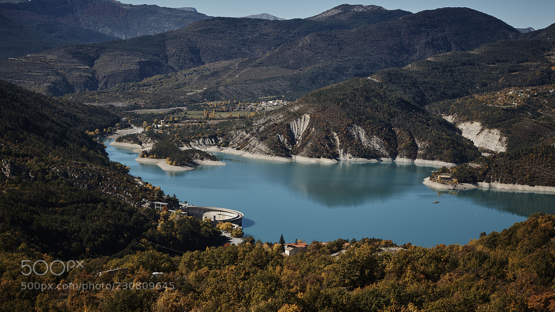 Lac de Castillon.