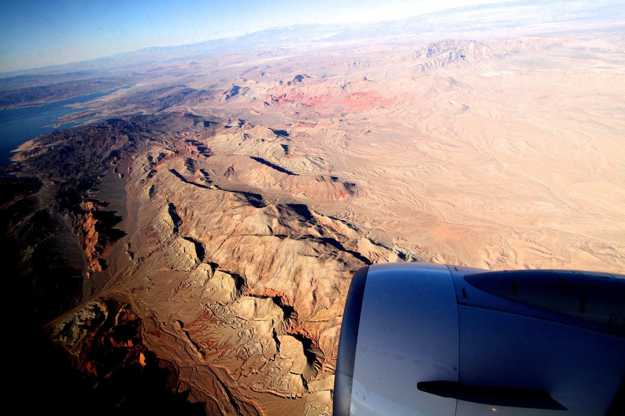 Photograph Approaching Las Vegas over Lake Mead by Chris Ratzlaff on 500px