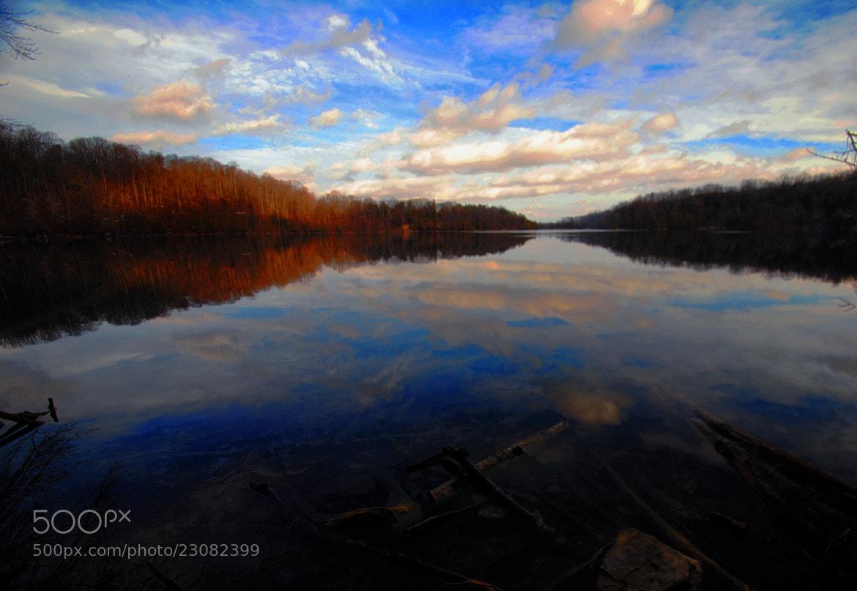 Photograph January Skies by cheryl rendino on 500px