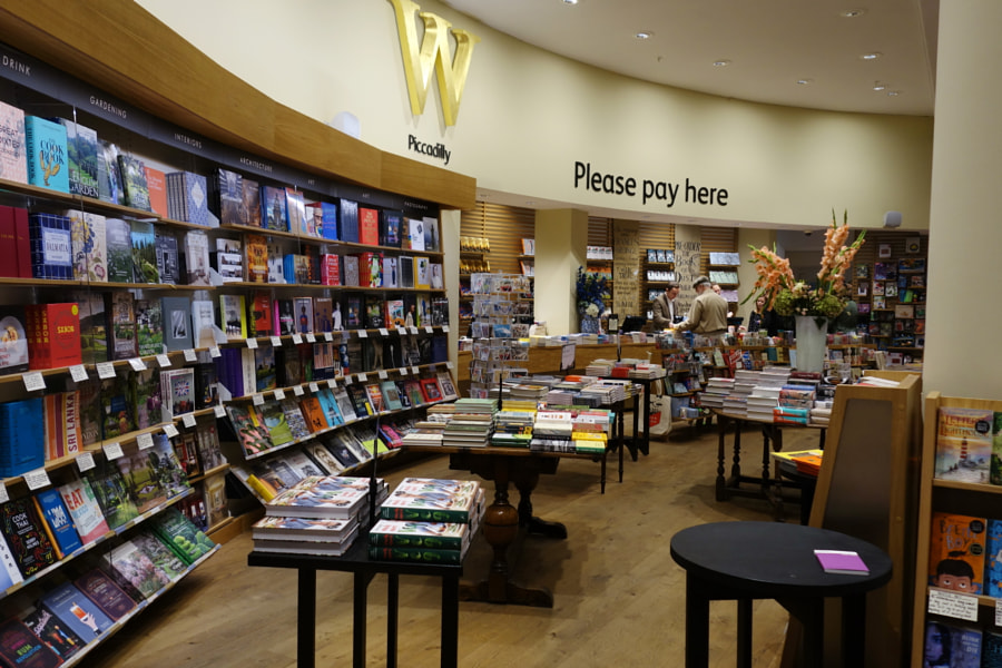 Waterstones, London, UK by Sandra on 500px.com