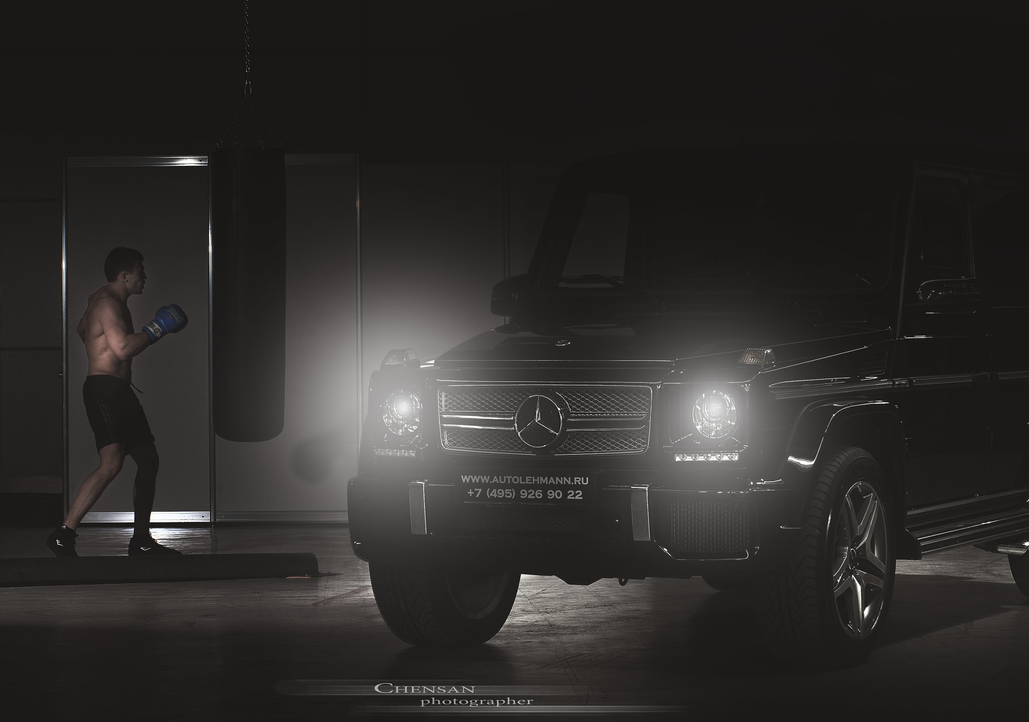 Photograph Mercedes-Benz G65 AMG . by Chensan , automotive photographer .  by  Chensan on 500px