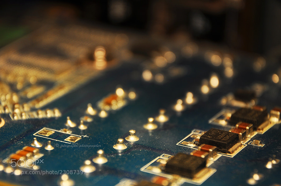 Photograph Inside technology by Ann T on 500px