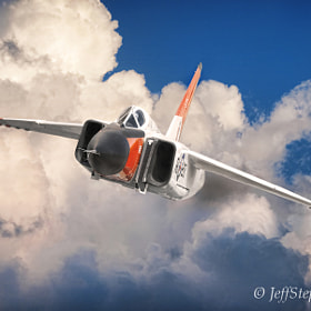 """Supersonic"" - Avro Arrow by Jeff Stephenson (jsp1)) on 500px.com"