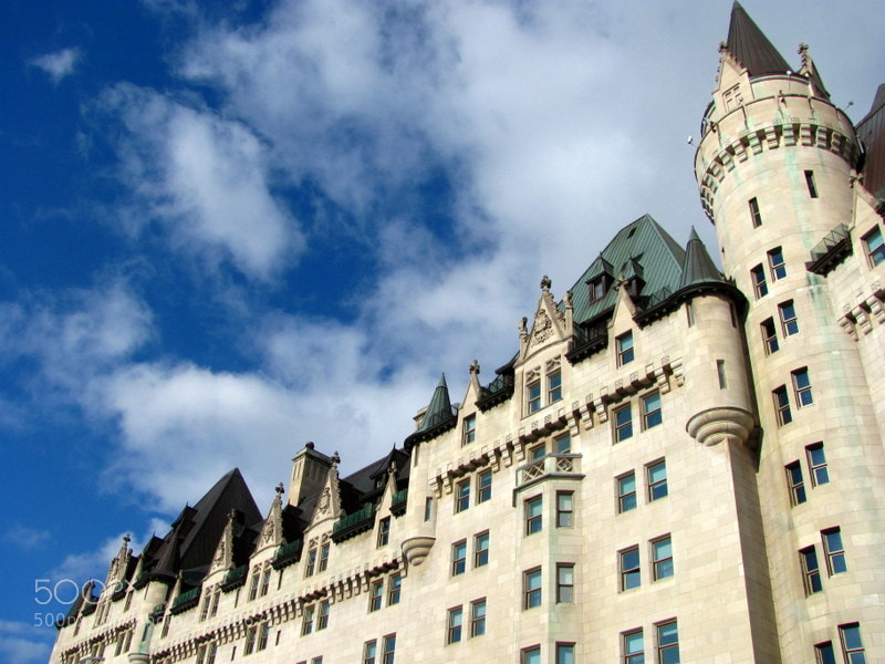 Photograph Chateau Laurier by Jessie Violet on 500px