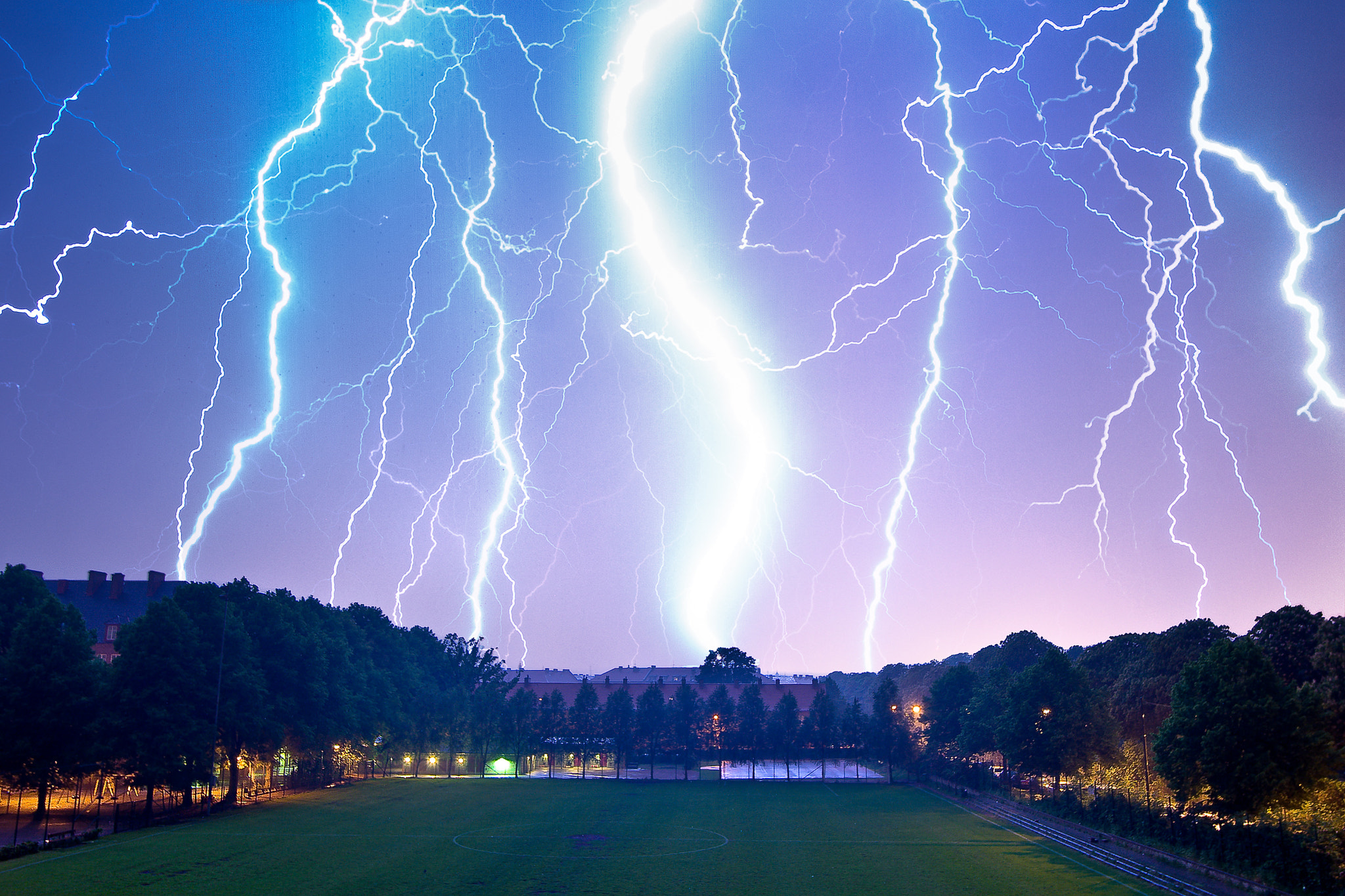 Photograph Electrical storm (lightning) by Mathias Vejerslev on 500px
