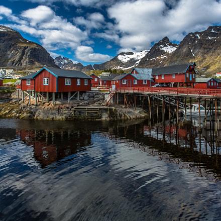 Å, Moskenes, Lofoten, Norway