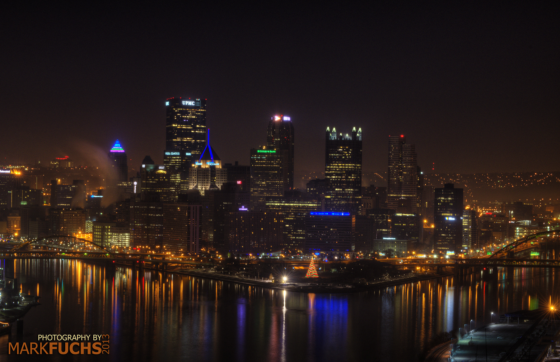 Photograph Pittsburgh from atop Mt. Washington by Mark Fuchs on 500px