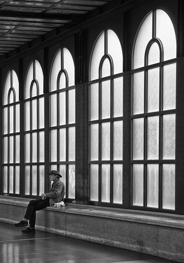 Photograph Lonely man by Jef Van den Houte on 500px