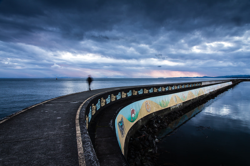 Photograph the breakwater by Eileen Seto on 500px