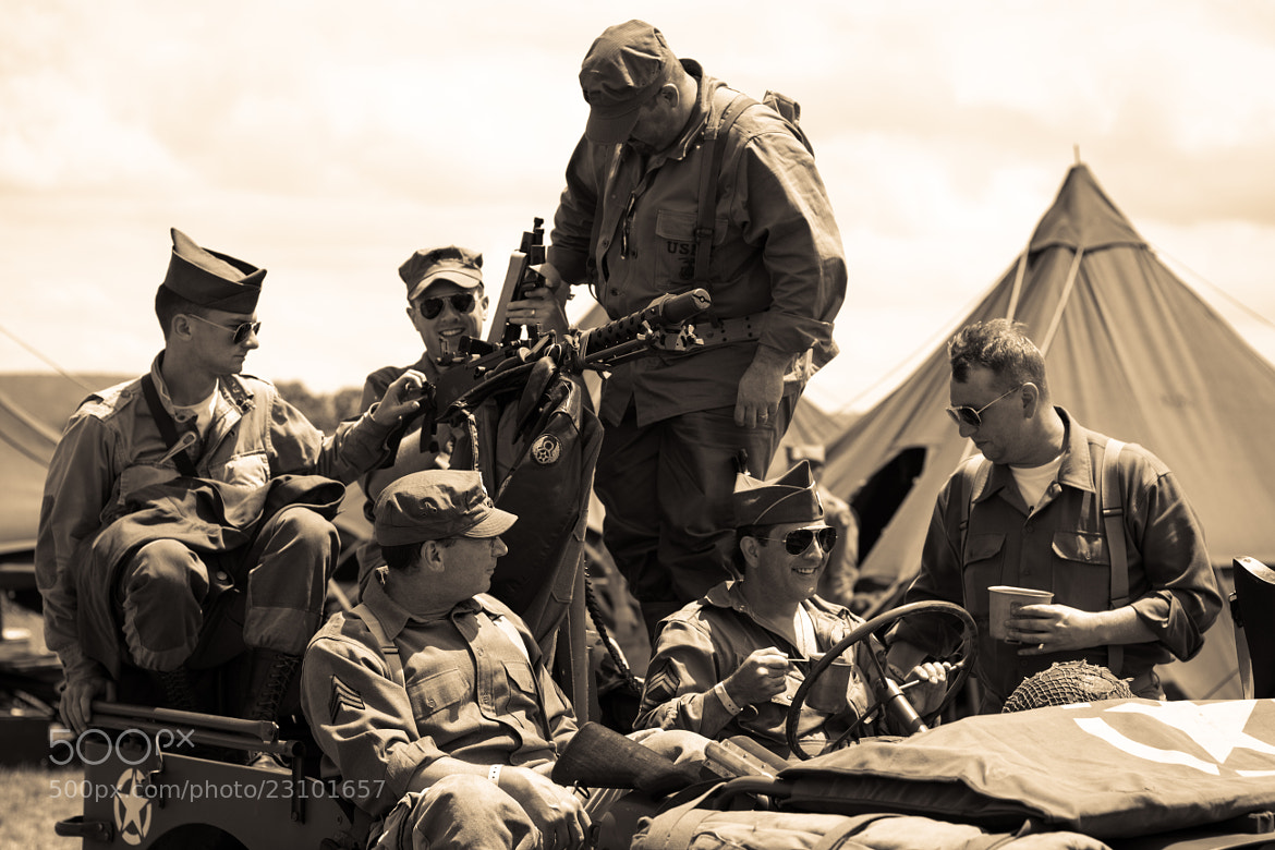 Photograph Comrades by Chas Wisler on 500px