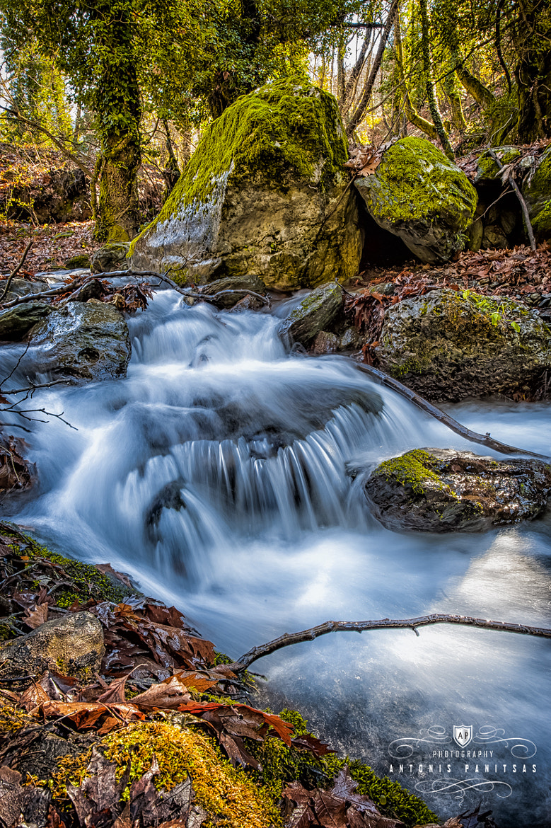 Photograph Water flow by Antonis Panitsas on 500px