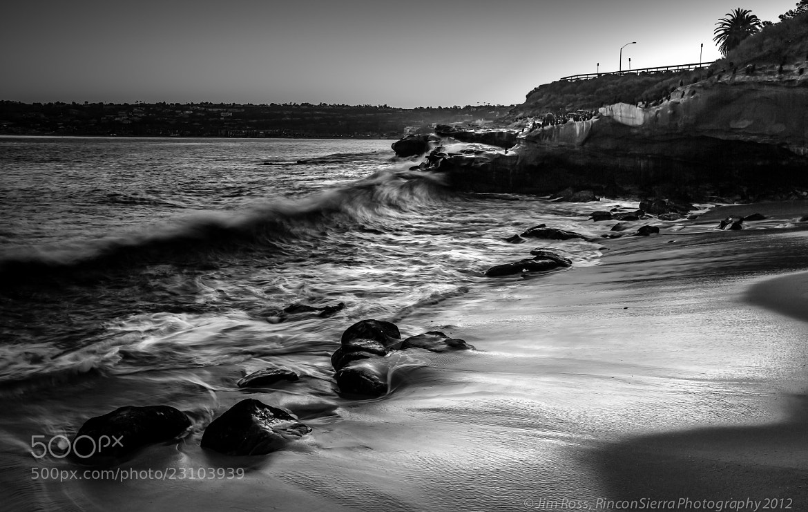 Photograph Early Morning La Jolla California B&W!!! by Jim Ross on 500px