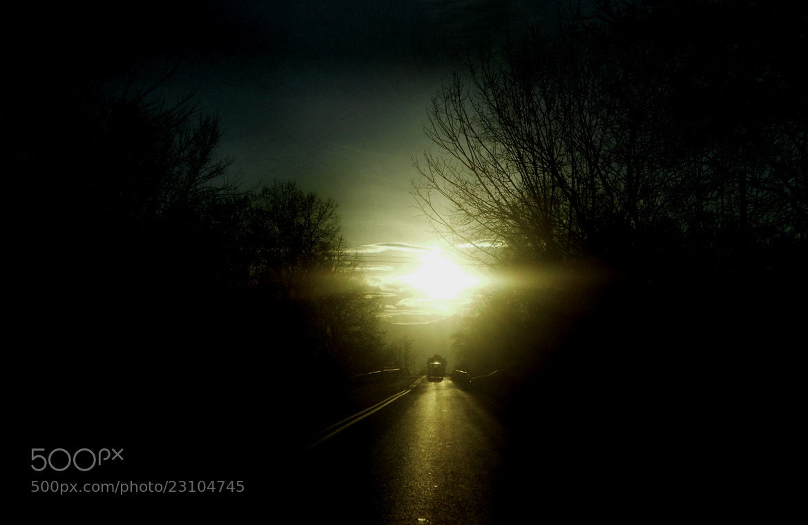 Photograph Lonely Road... by Christina Daskalou on 500px