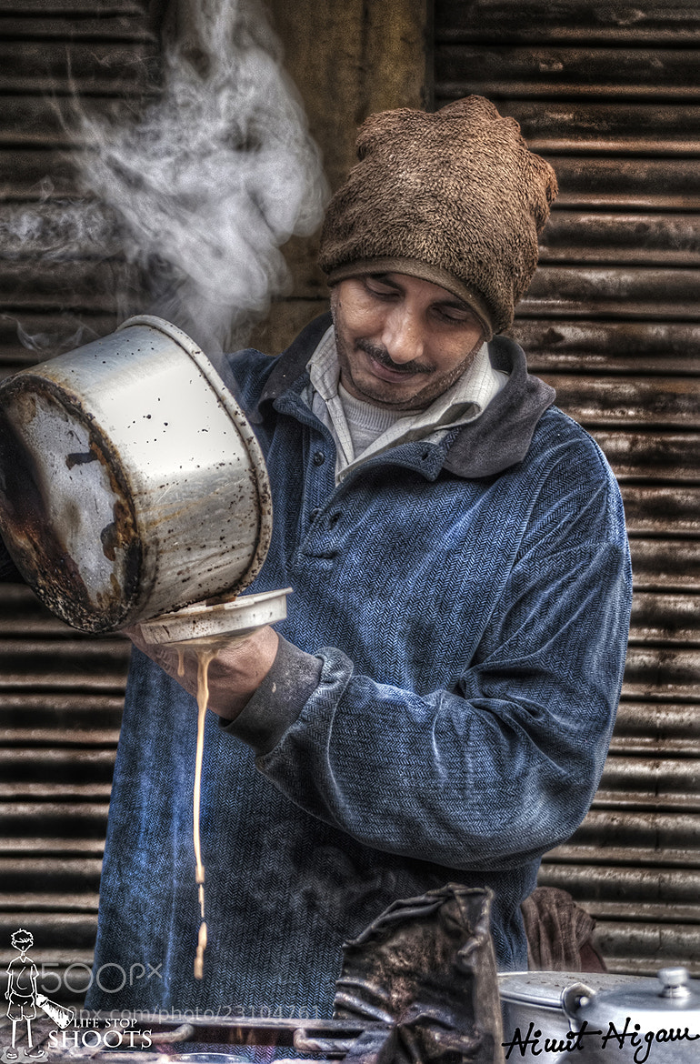 Photograph Tea Maker.... by Nimit Nigam on 500px