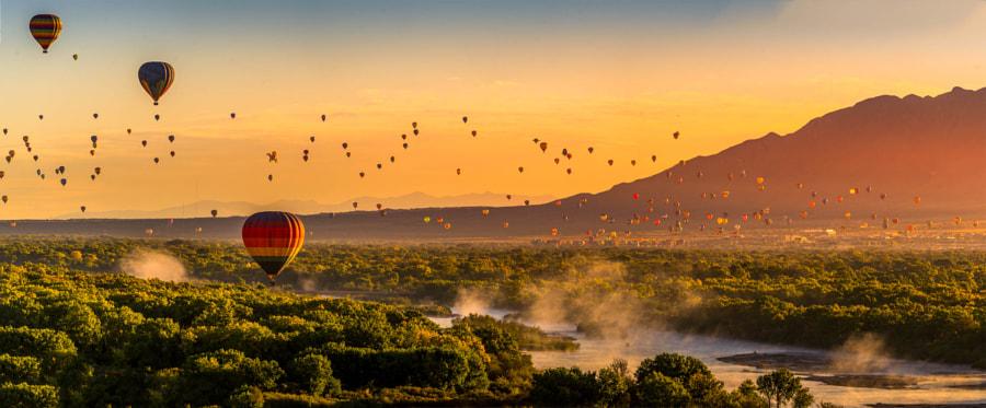 Albuquerque International Balloon Fiesta Pano