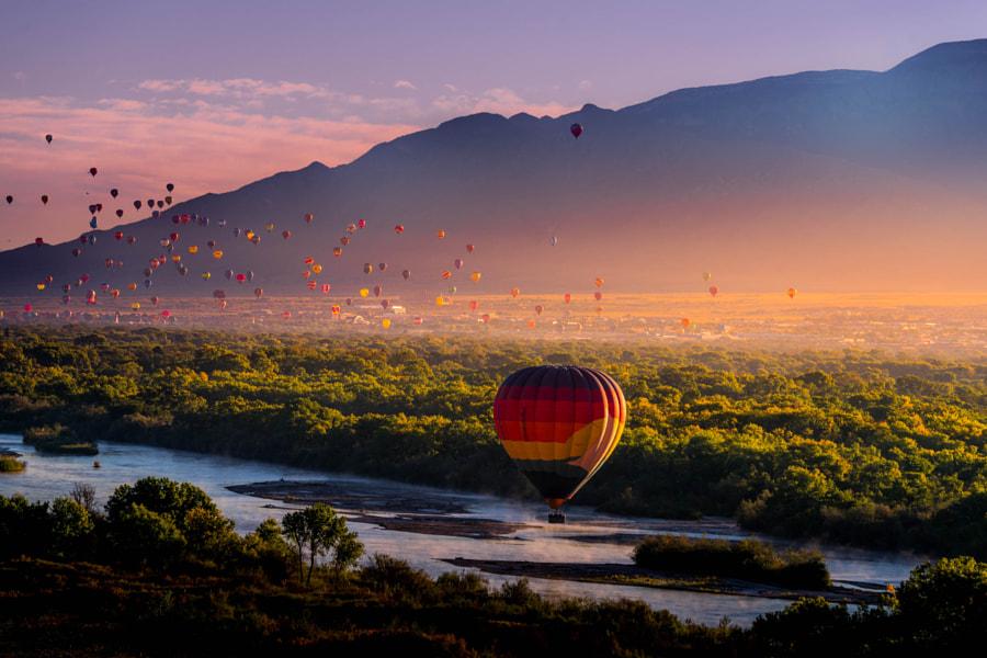 Ballon airshow