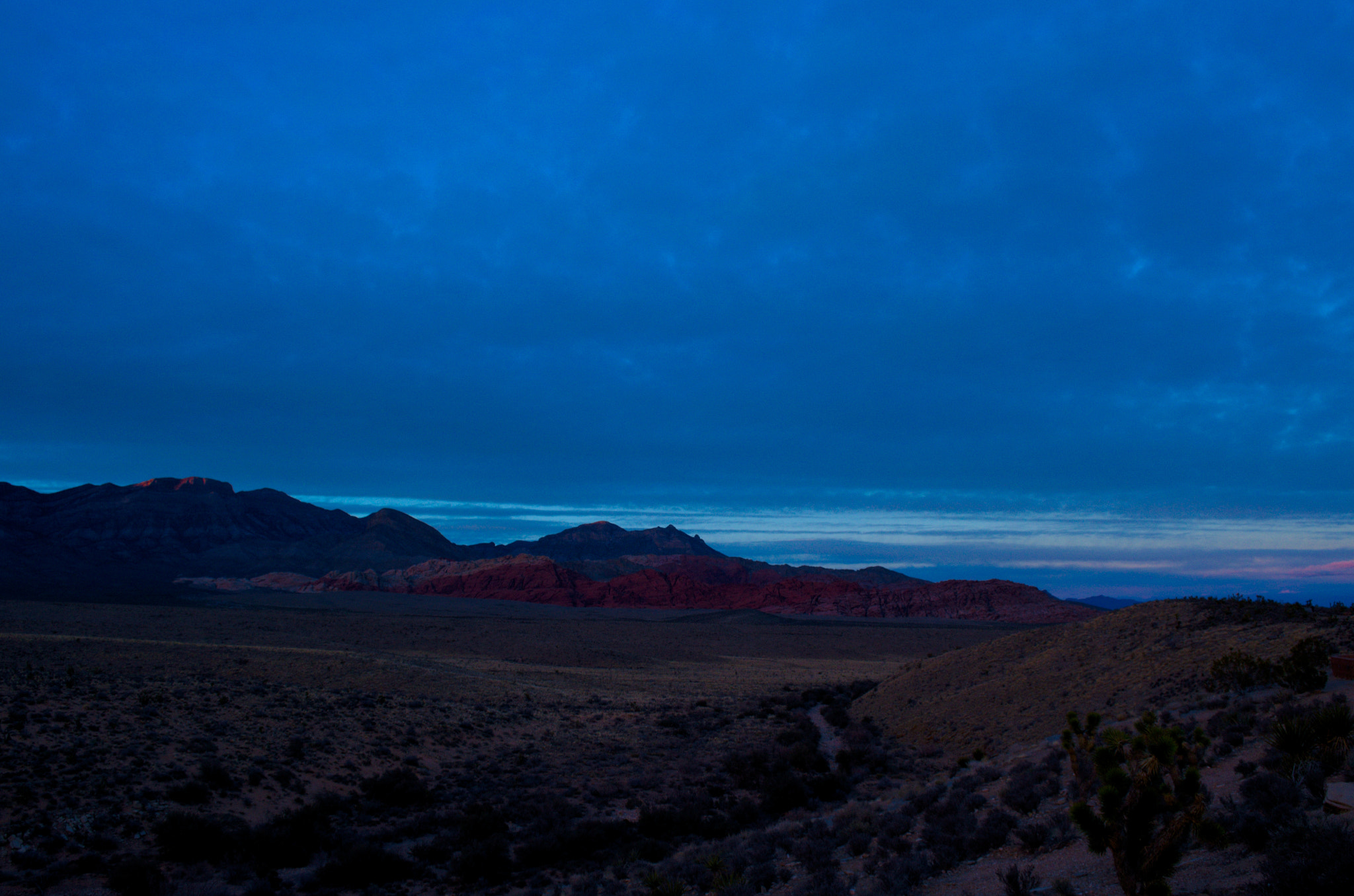 Photograph Red Rock Overlook at Dusk by David Horton on 500px